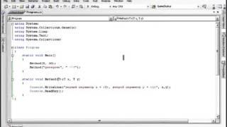 Урок 99 C# Обобщенные методы