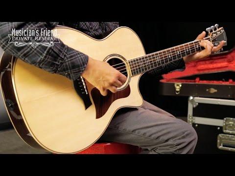 Taylor 800 Deluxe Series 814ce DLX Grand Auditorium Acoustic-Electric Guitar