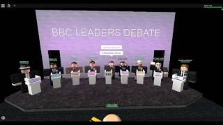 Roblox UK BBC Leaders Debate Part 1