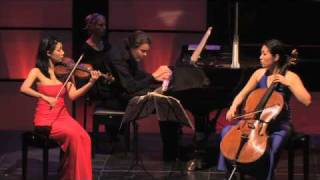 Trio con Brio: Beethoven Trio opus 97 - 1 Allegro Moderato