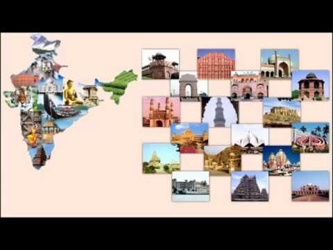 INDIA TOURIST MAP , PLACES AND FOOD(TOURIST GUIDE)
