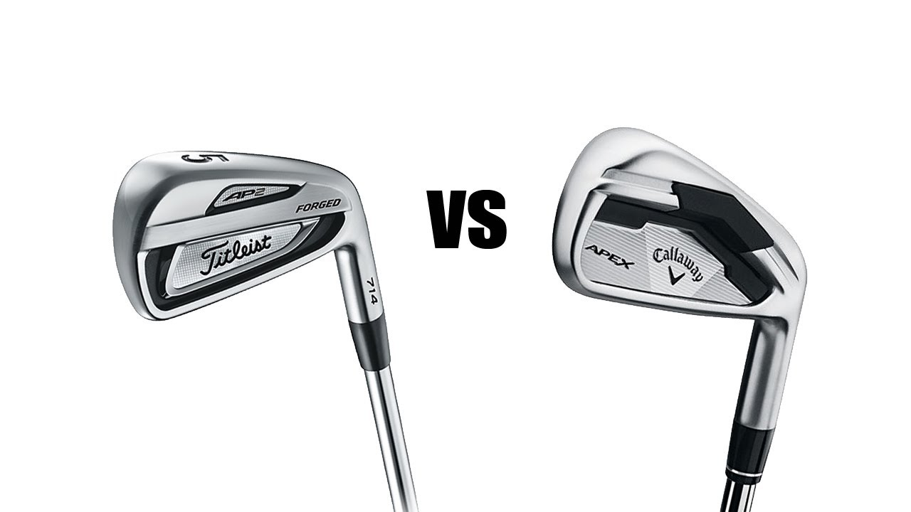 Titleist 714 Ap2 Vs Callaway Apex Irons Comparison And Review Youtube
