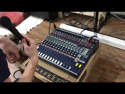 Микшерный пульт Soundcraft EFX 12 Авито