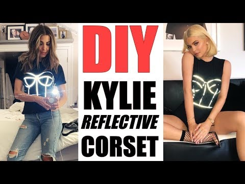 DIY: How to Make Kylie Jenner's REFLECTIVE CORSET! -By Orly Shani