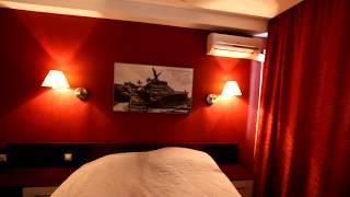 видео Гостиница с золотым фасадом