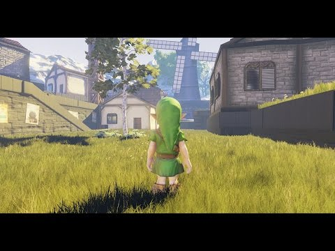 Someone has recreated Kakariko Village from Ocarina of Time in Unreal Engine 4