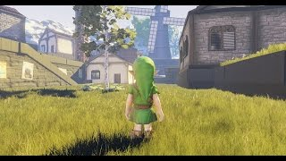 Ocarina of Time meets Unreal Engine 4 - Kakariko Village
