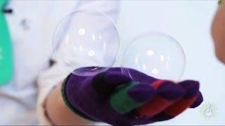 Научное шоу. Как сделать так, чтобы мыльный пузырь не лопнул