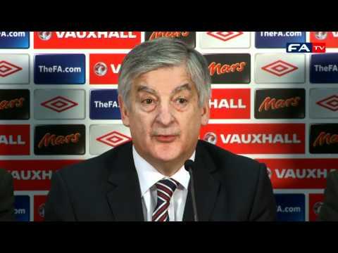 Fabio Capello resignation - David Bernstein and The FA Press Conference