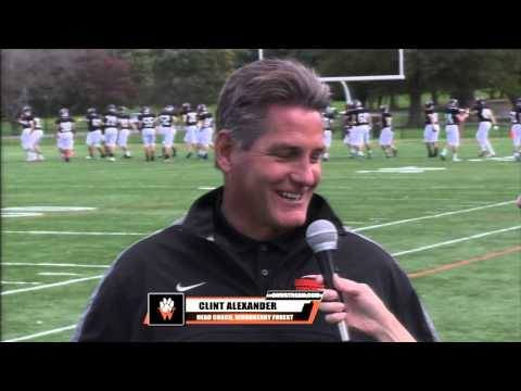 Woodberry Forest vs. Benedictine football, 10/18/14