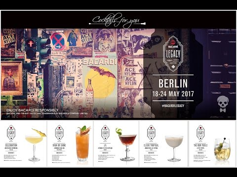 Bacardi Legacy Global Semi-Finals 2017 part 2