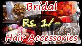 Bridal Hair Accessories in Cheapest Price | Dulhan Collection | Bridal Accessories | Burrabazaar