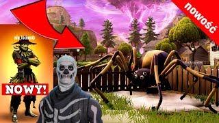 GREAT SPIDER IN FORTNITE! -Halloween in Fortnite Battle Royale-Skull Trooper, scare + new skins!