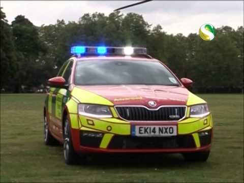 Channel S News - Air Ambulance with Trauma Car