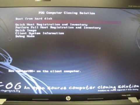 Fog Multicast Deploy Image