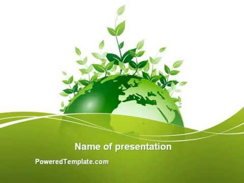 Green Environment PowerPoint Template by PoweredTemplate - YouTube