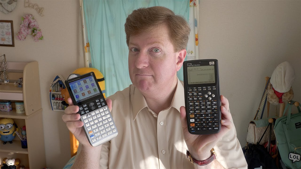 HP Prime Calculator Review, with HP 28S, 48GX and 50g