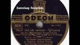 Heut´ bin ich verliebt - Robert Dorsay mit Billy Bartholomew