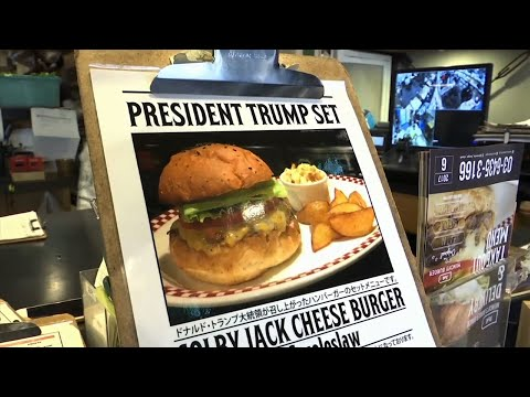 Burger Shop in Japan Releases New Trump Burger