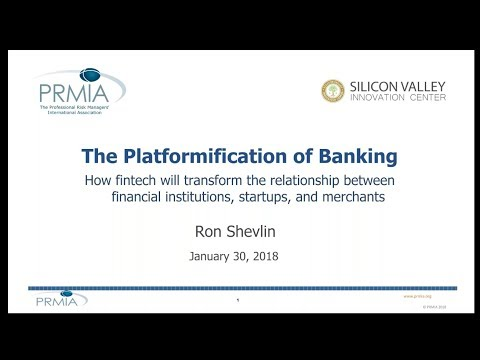 The Platformification of Banking