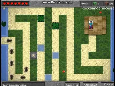 [Онлайн Игры] Minecraft защита башни