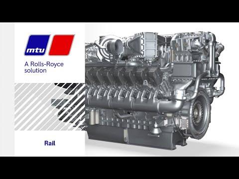 Technology trailer: Journey through an MTU rail engine