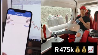 Jason Noah makes 28,000 Dollars (R475,000) from ONE Swing Trade | SA FOREX TRADER