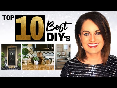 Absolute Top 10 BEST DIY Home Decor Projects ON A BUDGET 2019!