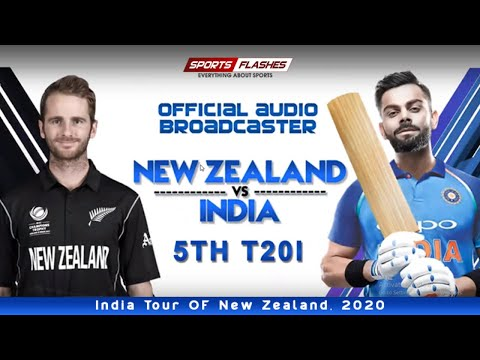 Live भारत बनाम न्यूजीलैंड 5thT20I | Live Scores And Hindi Commentary