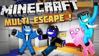 Minecraft: Multi Escape 2/3 - feat. MinecraftBremu (Trolololo !)