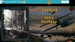 Expedition For Survival Level 18 JOE
