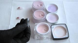 Entity Nudite powders and Hollywood nails powder