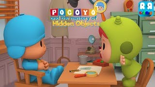 Fun Kids Play Puzzle Games with Nina - Pocoyo and the Mystery of the Hidden Objects