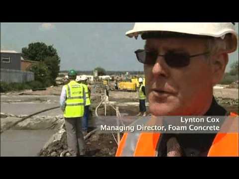 Foam Concrete Production