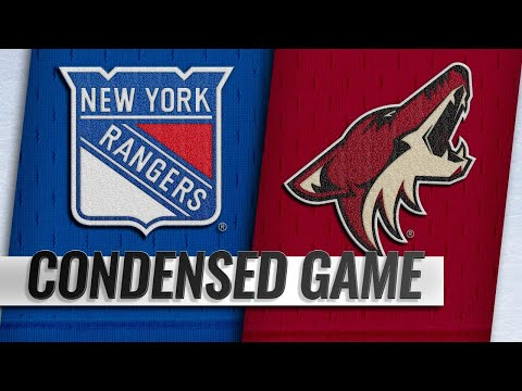 01/06/19 Condensed Game: Rangers @ Coyotes