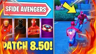 🔴SFIDE AVENGERS & NEW LTM! PATCH 8.50 ALL THE NEWS NEW SHOP DAILY! Fortnite ITA