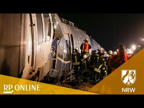 Schweres Zugunglück in Meerbusch bei Düsseldorf