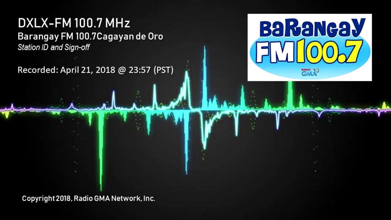 Video - DXLX-FM Barangay FM 100 7 CDO (Sign-off) -23-APR