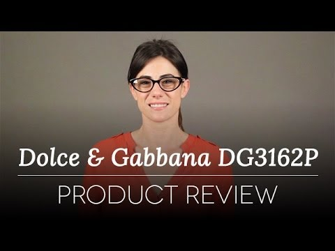 4a5b56a221 Dolce   Gabbana Glasses DG3162P 2716 Review - YouTube