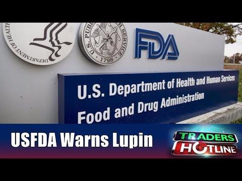 Lupin Drops After USFDA Warning | Traders Hotline | 7th Nov | CNBC Awaaz
