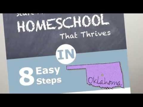How to Homeschool in Oklahoma and Oklahoma Homeschool Laws
