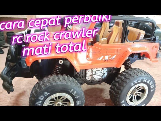 Mobil Remot Rc Rock Crawler Mati Total Youtube