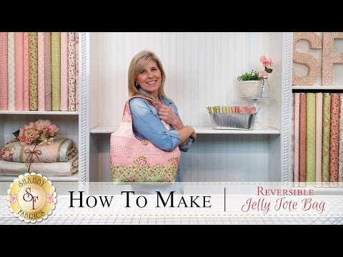 How To Make A Reversible Jelly Roll Bag  With Jennifer