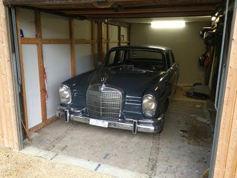 Wie der Mercedes 220, Jg. 1964 zu uns kam!