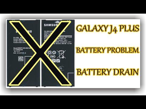 Galaxy J4 Plus Battery Problem - J4+ Battery Replacement