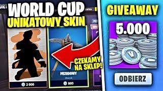 DZIS SKINS WORLD CUP IN THE STORE * CUSTOMY * IN FORTNITE | hajTv #FORTNITE