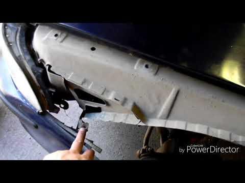 Замена крыла BMW E39