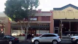 Drive through Downtown San Luis Obispo California