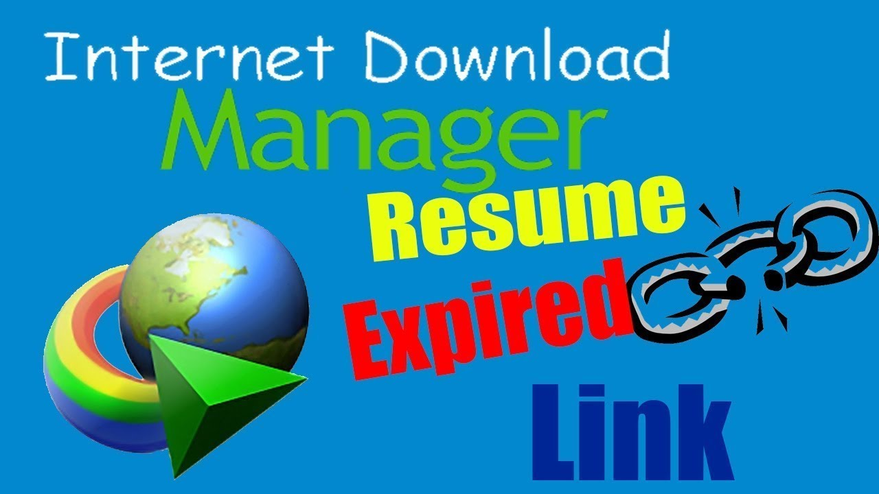how to resume failed download  internet download manager