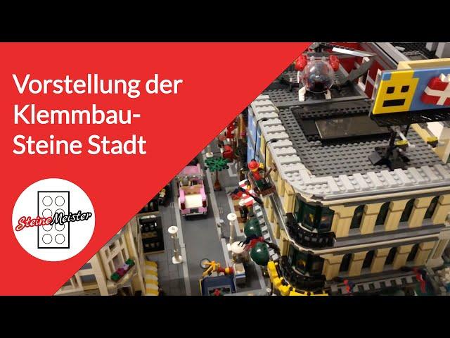 Infos: Vorstellung des Kanals und der Klemmbausteine Stadt